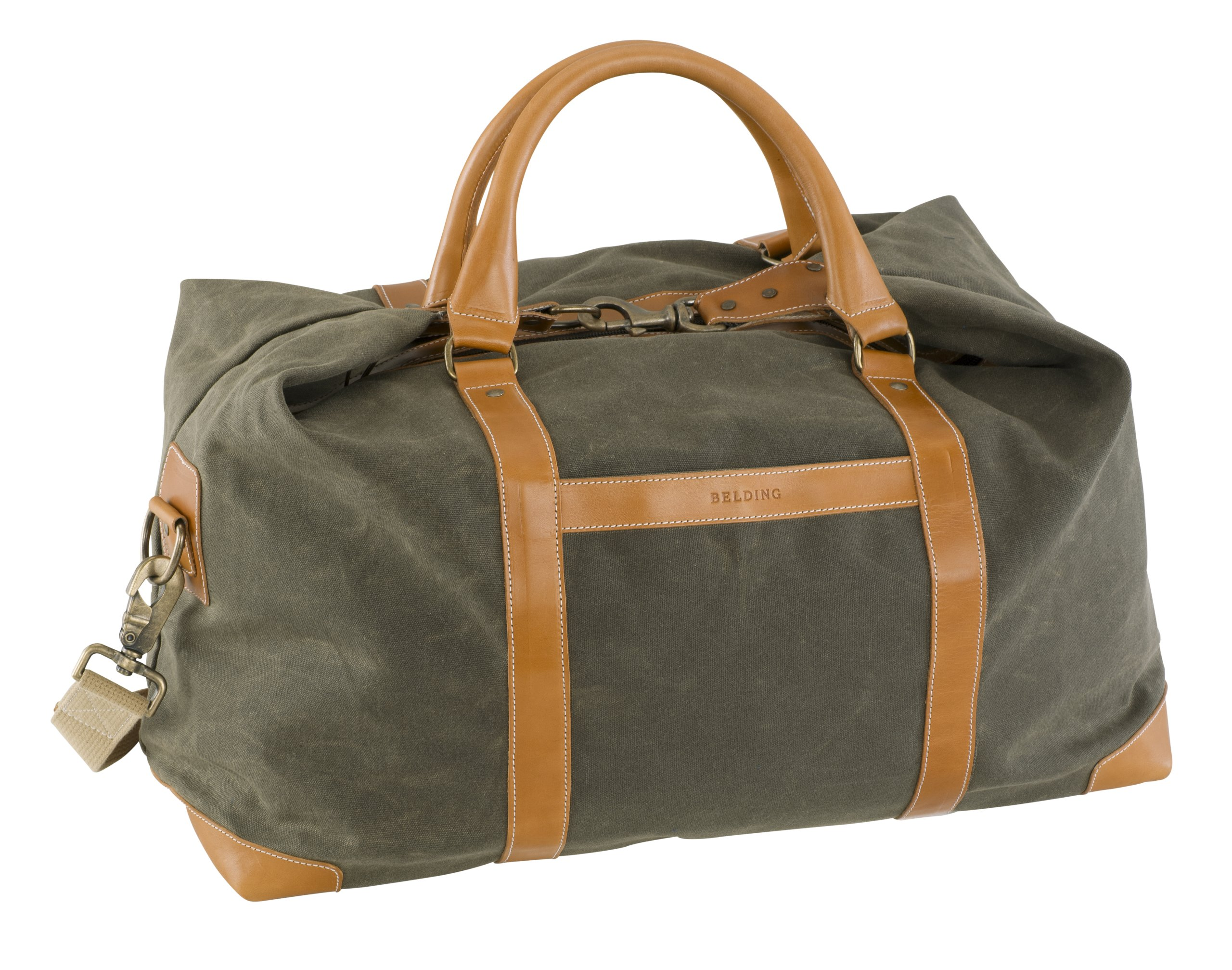 BELDING American Collection Satchel Duffle Bag, Sage