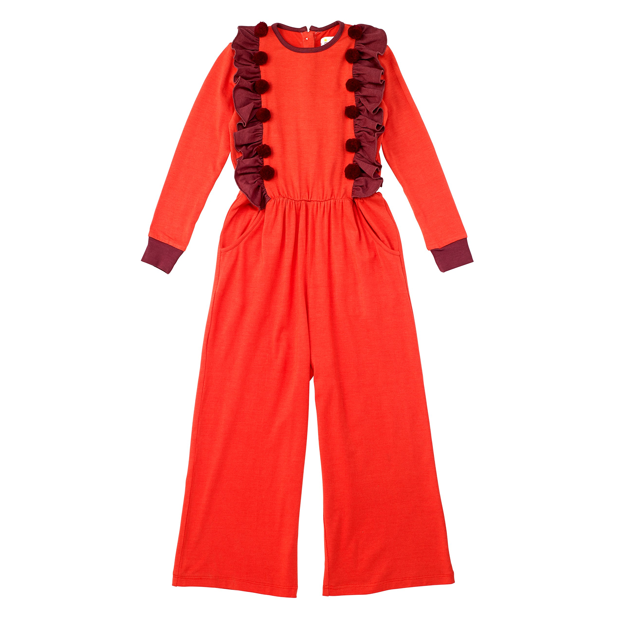 Masala Kids Girls' Little Redwood Jumper, Coral 4Y by Masala Kids (Image #3)