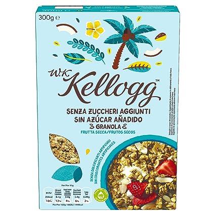 Kelloggs Cereales sin Azúcar Añadido Frutos Secos - 300 gr