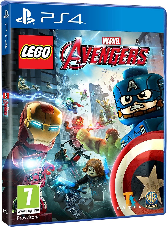 avengers marvel lego livello 5
