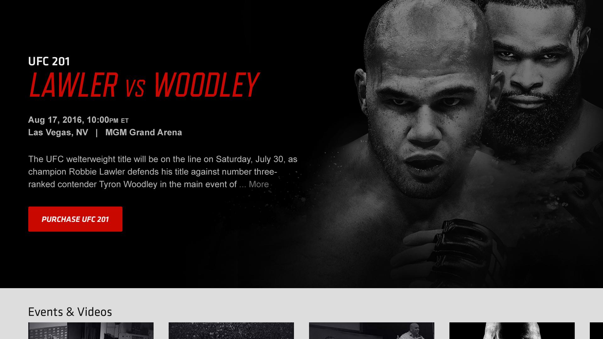Large Product Image of UFC