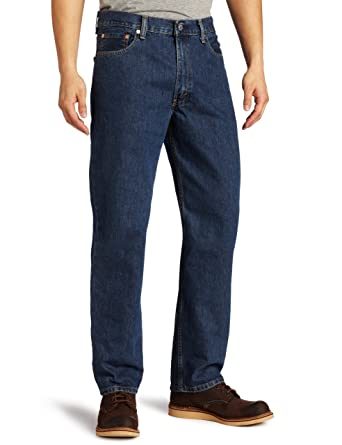 Levis Mens Big and Tall 550 Big & Tall Relaxed Fit Jean
