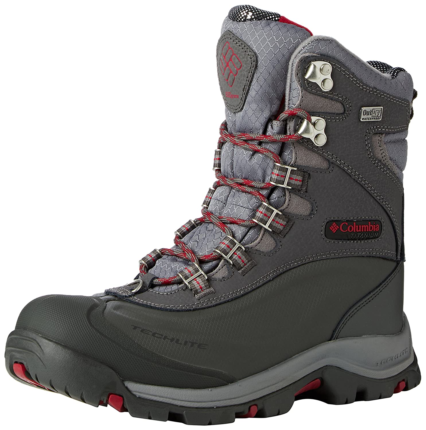 Columbia Bugaboot Plus III Titanium Omni-Heat Winter Boots - Women's B00X5D3UME 6.5|Shale/Pomagranite