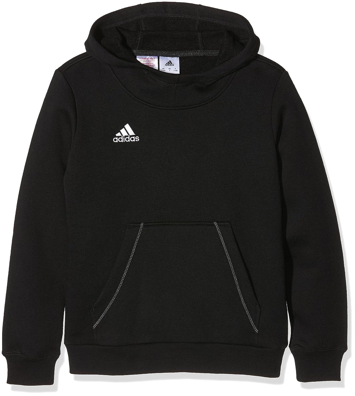 Adidas Core 15 Yooth - Felpa con Cappuccio da Bambino Rosso Rosso/Bianco 152