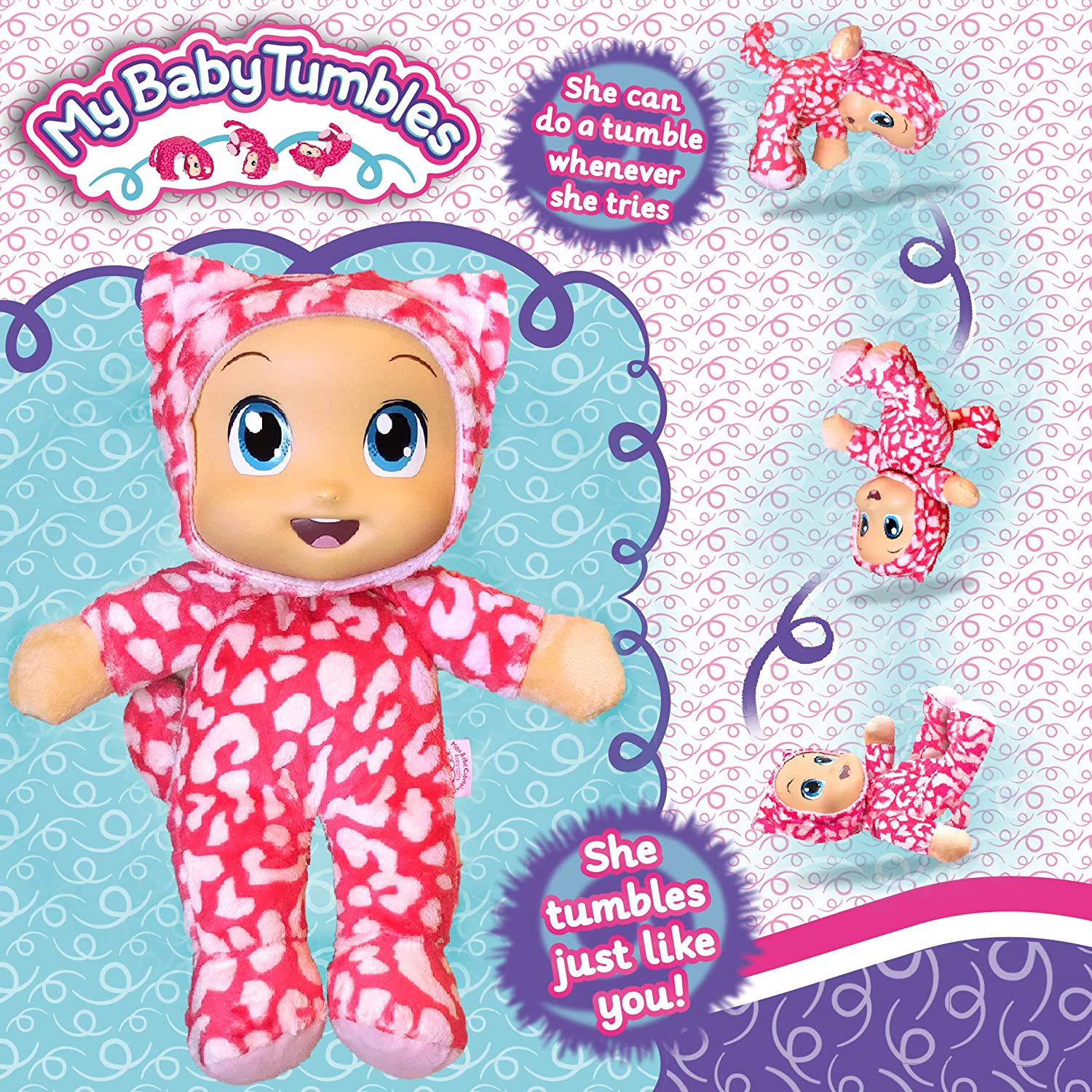 My Baby Tumbles soft doll as seen on TV! 33% OFF £9.99 @ Amazon