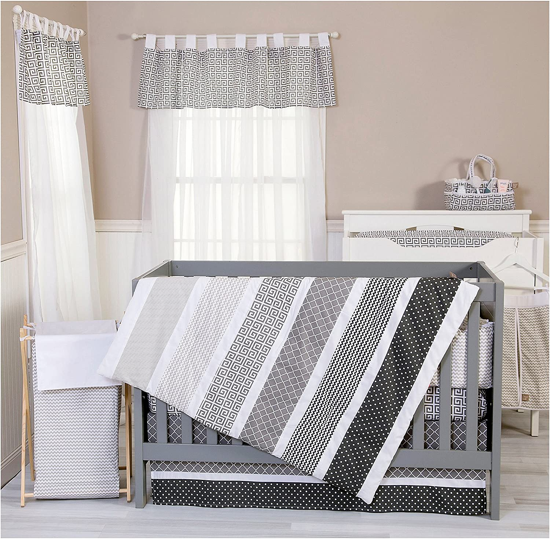 Trend Lab Ombre Gray 6-Piece Nursery Crib Bedding Set by Trend Lab