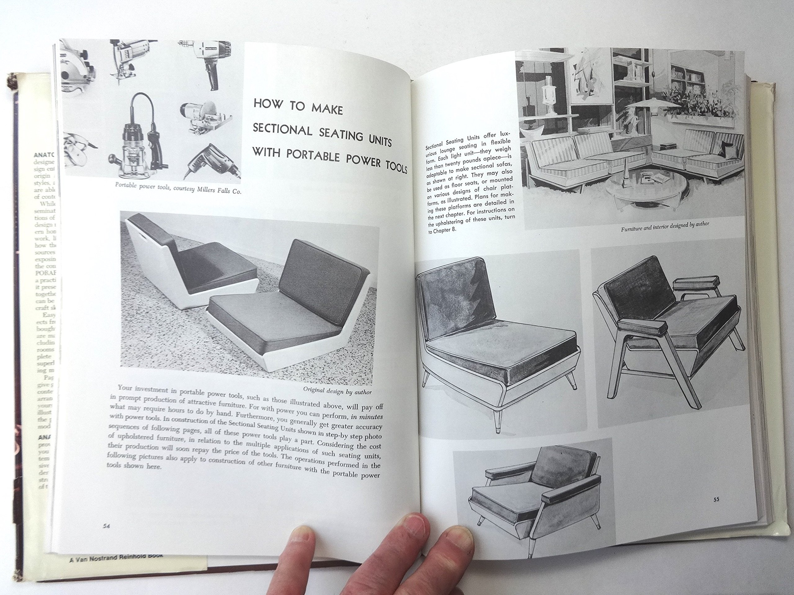 Anatomy of Contemporary Furniture (with measured drawings ...