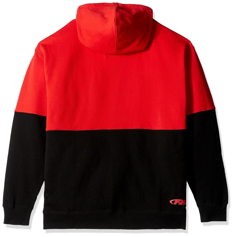 Black//Red, XX-Large Factory Effex 15-88366 Honda Double Hooded Zip-up Sweatshirt