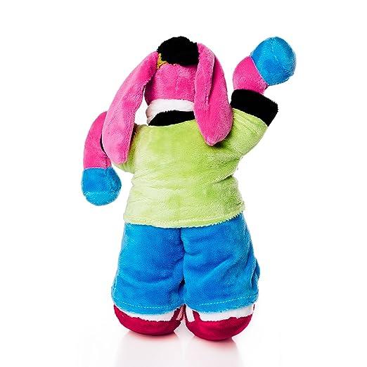 Cantajuego Peluche Burrito Pepe - Producto Oficial: Amazon.es: Juguetes y juegos