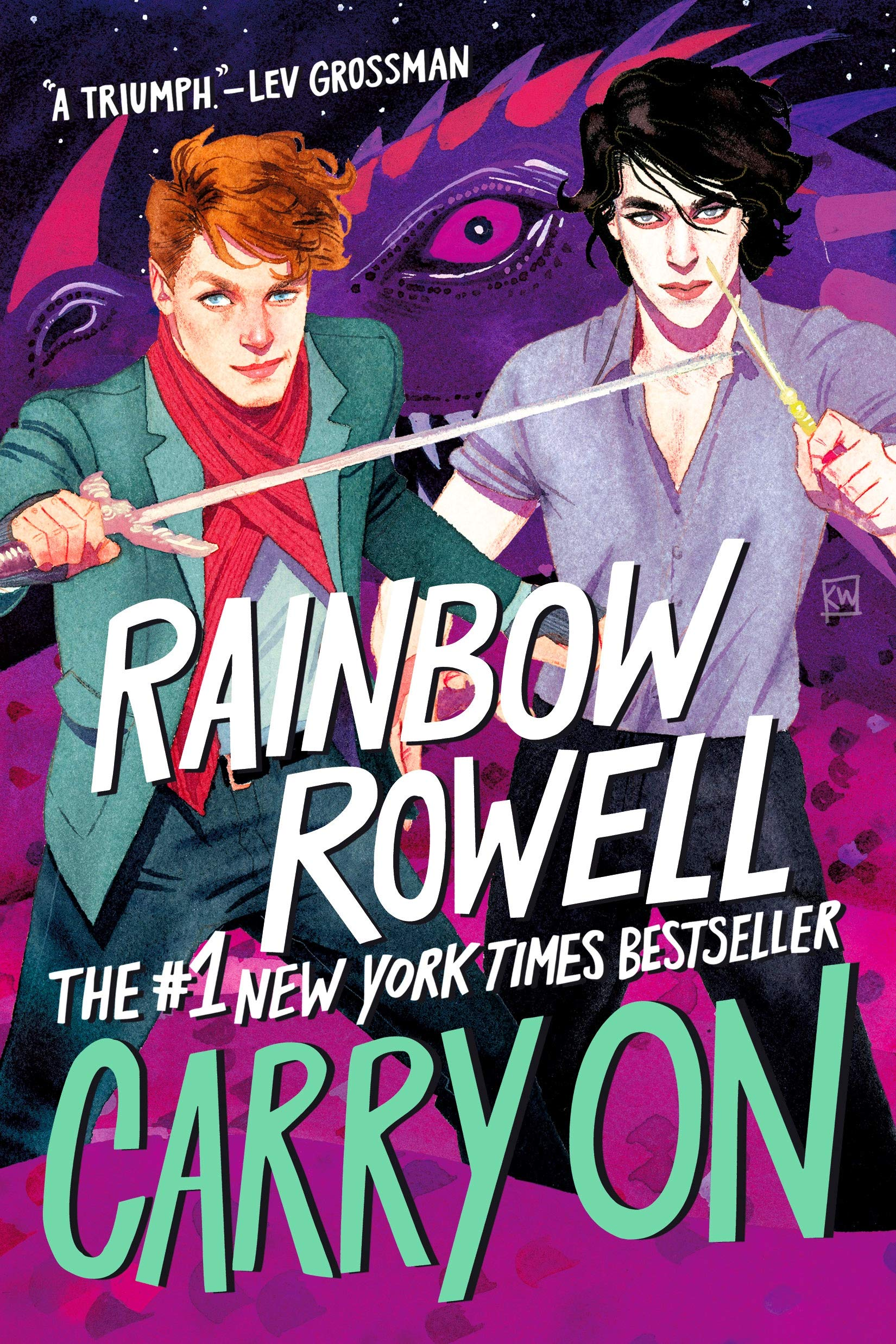 Amazon.com: Carry On (Simon Snow Series) (9781250135025): Rowell ...