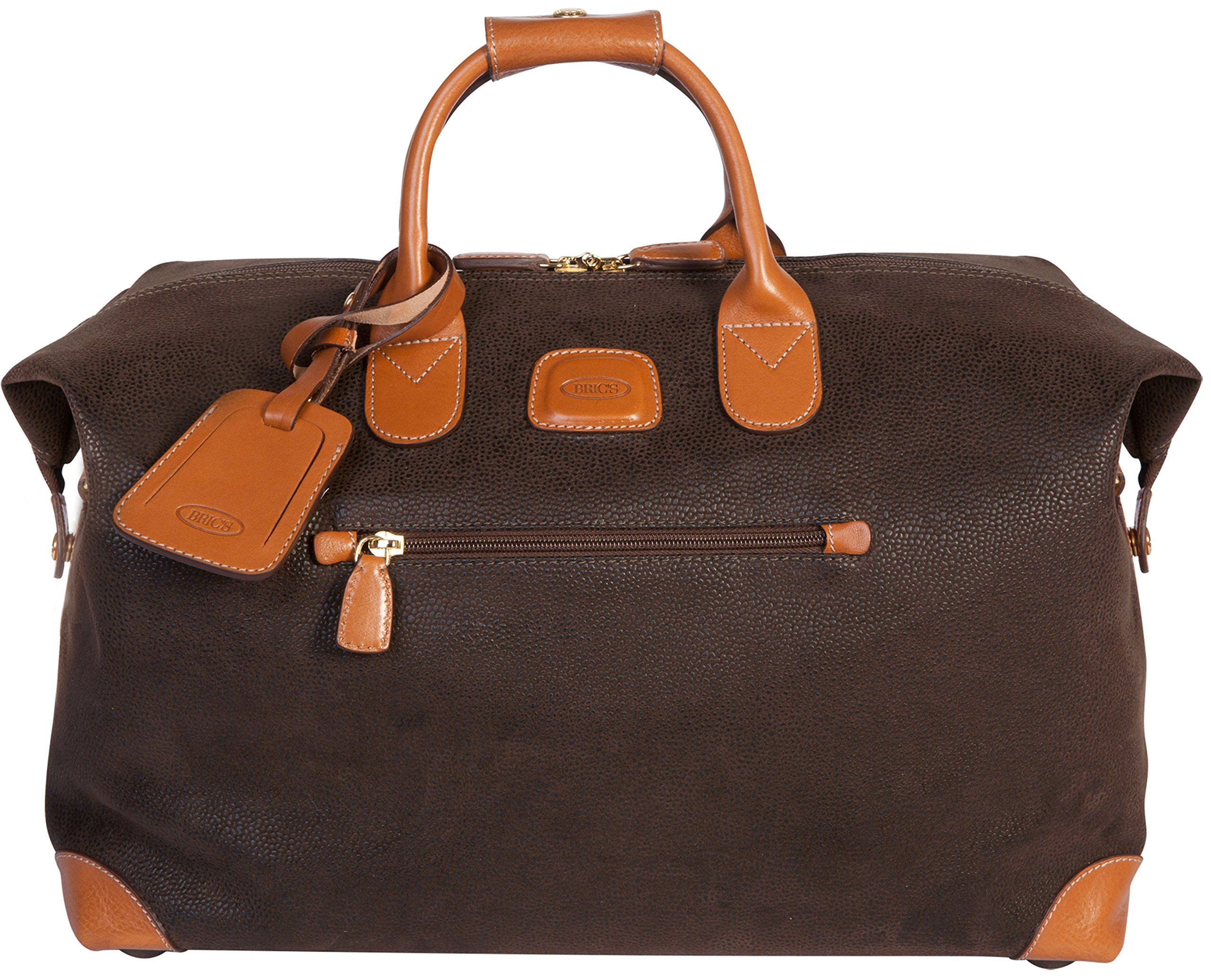 Bric's Luggage Life 18 Inch Cargo Duffle (Brown)