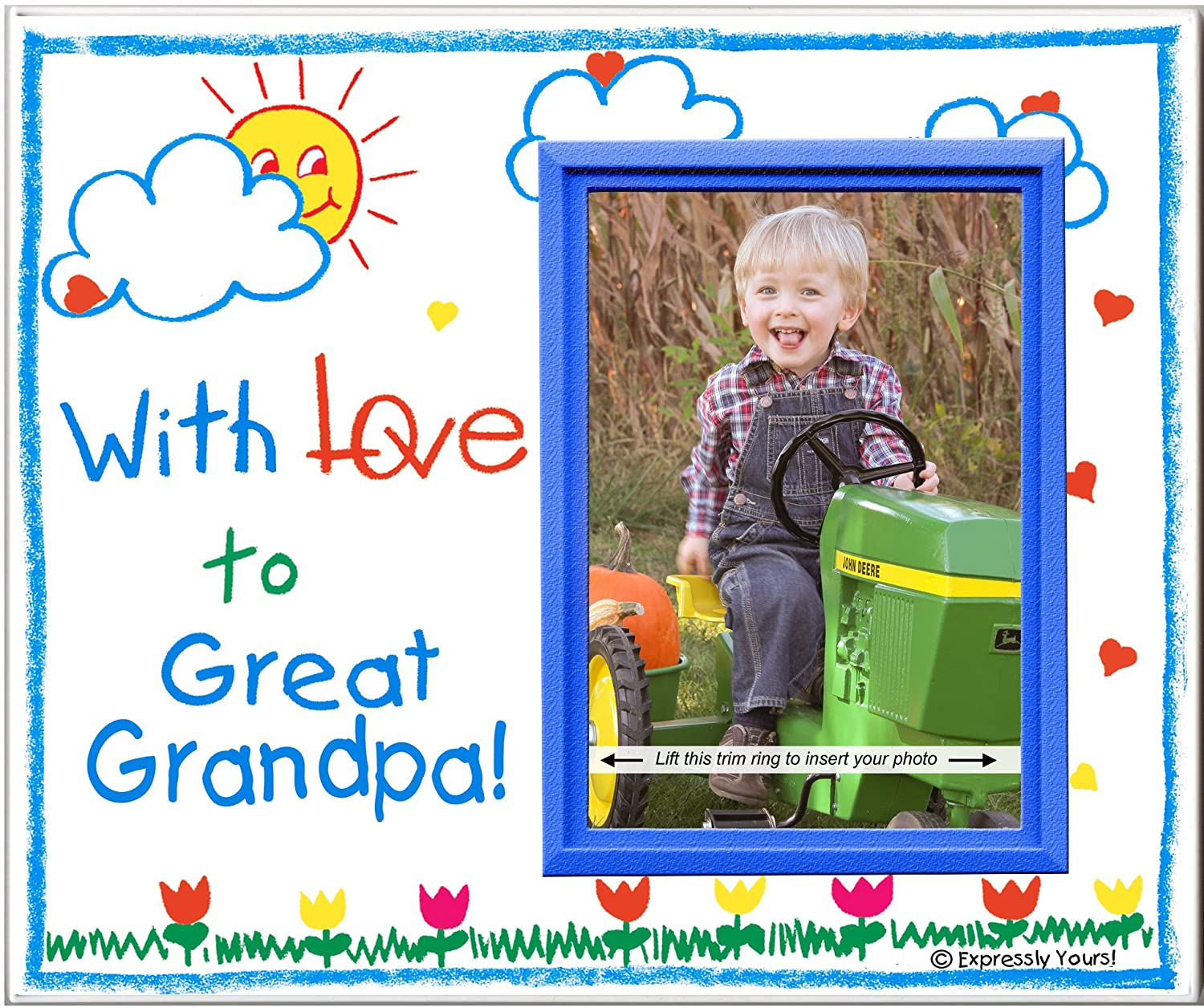 Amazon.com - With Love to Great Grandpa! - Picture Frame Gift ...
