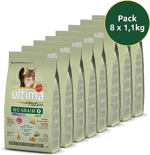 Ultima Nature No Grain Pienso para Gatos Esterilizados sin ...