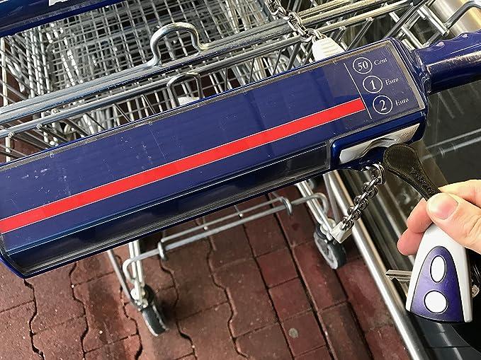 moneda carro compra carro de la compra reutilizable de monedas shopping coin - libre carrito de la compra: Amazon.es: Bricolaje y herramientas