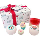 Bomb Cosmetics Jar of Hearts Handmade Gift Pack