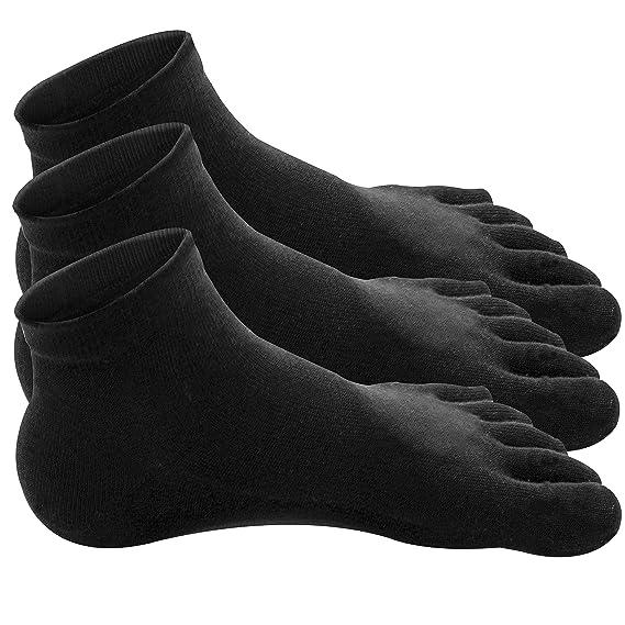 Traveler Algodón 100% Calcetines Dedos Five Fingers Mujer (No.1-71 /