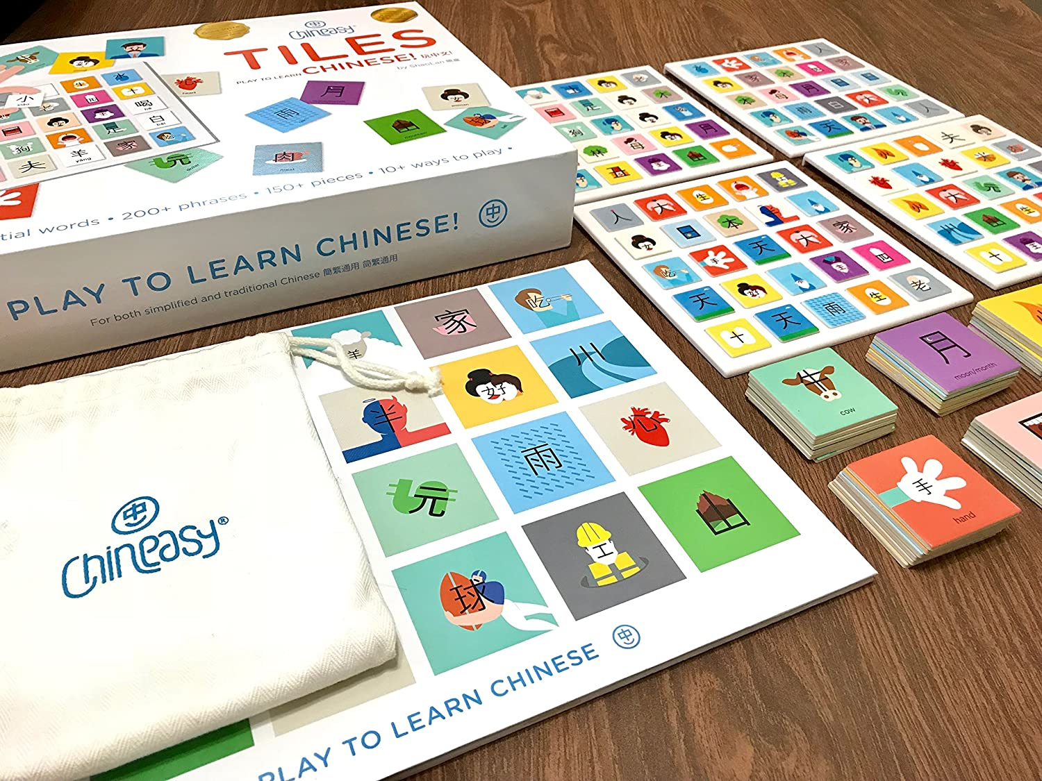 Chineasy Tiles A Game For All Ages That Makes Learning Chinese Fun