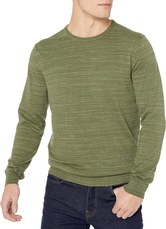Marque pullover-sweaters Homme Goodthreads Sweat Zipp/é /À Manches Longues en Coton Doux