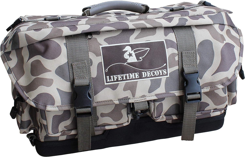 Lifetime Decoys Old School Camo Blind Bag//Backpack