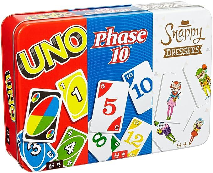 Amazon.com: Juego de cartas Uno Collector Tin: Toys & Games