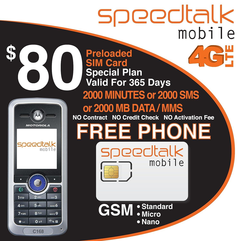 amazon com 80 prepaid sim card 2000 minutes or 2000 text or 2000mb