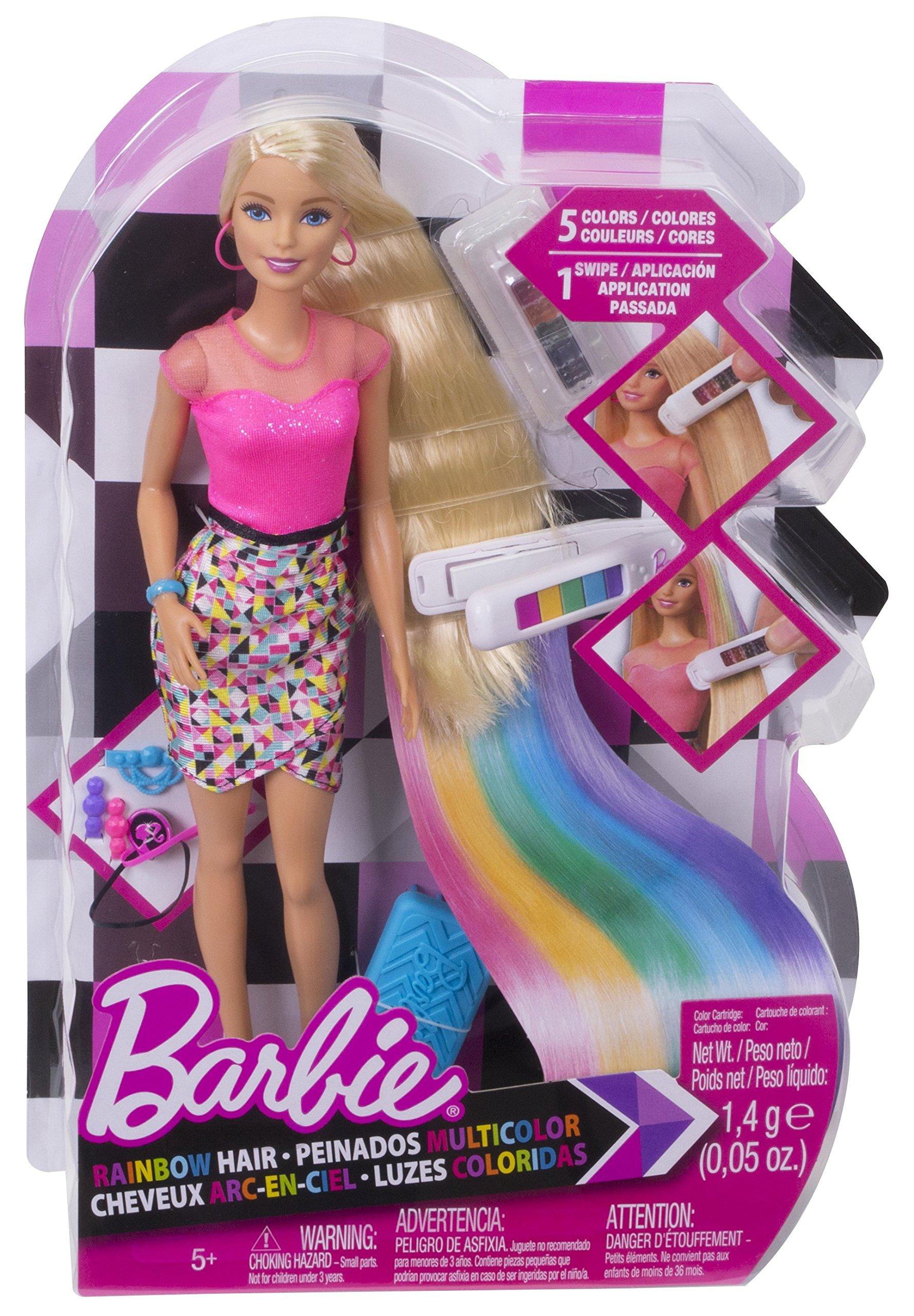 Barbie D.I.Y. Rainbow Hair Doll by Barbie