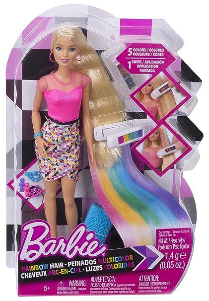 Barbie DIY Rainbow Hair Doll