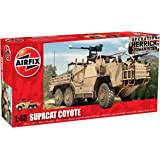 Airfix A06302 Coyote Tactical Support Vehicle - TSV 1:48 Scale Series 6 Plastic Model Kit