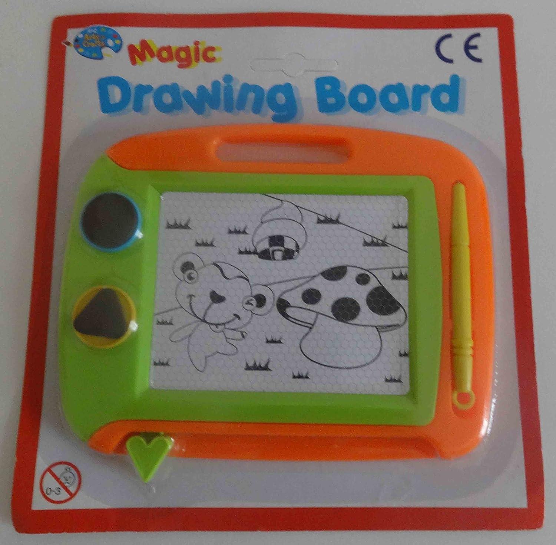 CHILDRENS MINI MAGNETIC WIPE CLEAN DRAWING BOARD Magic