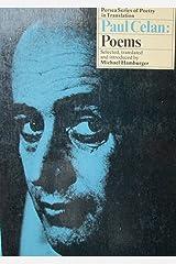 Paul Celan: Poems Paperback