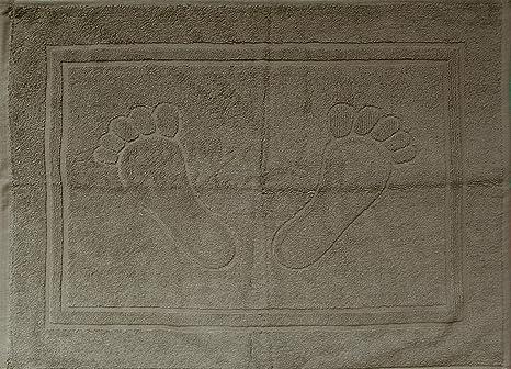 60cm Frottee Baumwolle Duschvorleger Badvorleger Badematte Badteppich 40