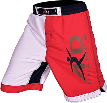 ARD PRO MMA Fight Shorts UFC Cage Fight Grappling Muay Thai Boxing Orange