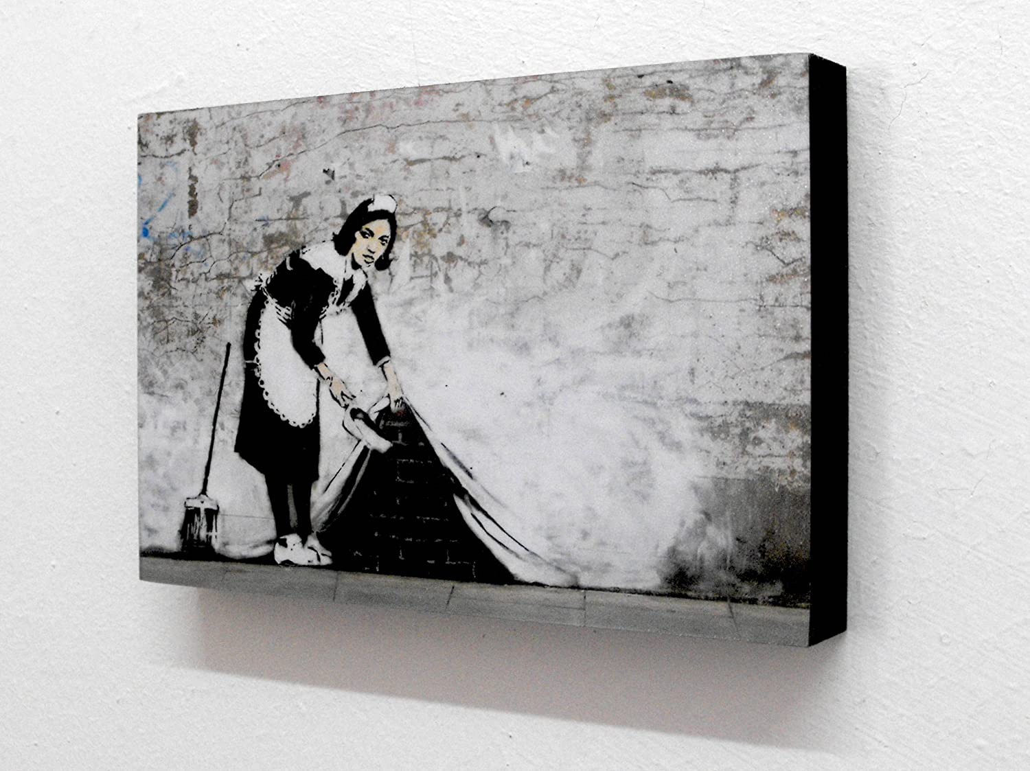 Banksy Maid Graffiti 6