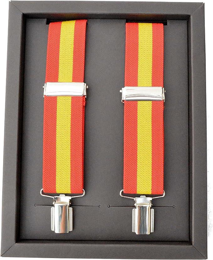 Cencibel Smart Casual Tirantes Caballero Bandera de España: Amazon.es: Ropa y accesorios