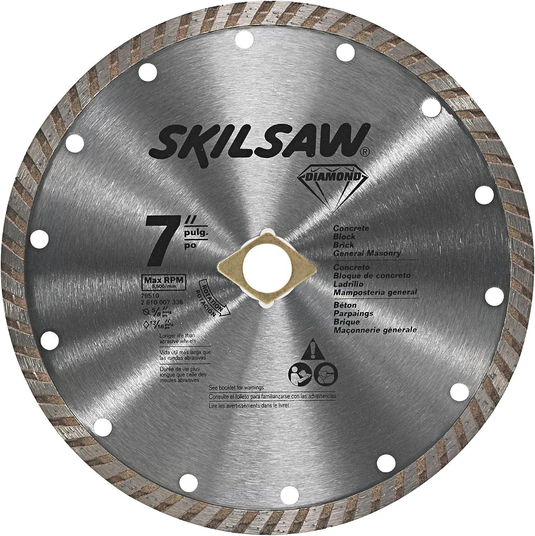 SKIL 79510C 7-Inch Turbo Rim Diamond Blade