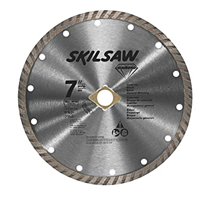 Skil 79510c 7 inch turbo rim diamond blade amazon skil 79510c 7 inch turbo rim diamond blade greentooth Images