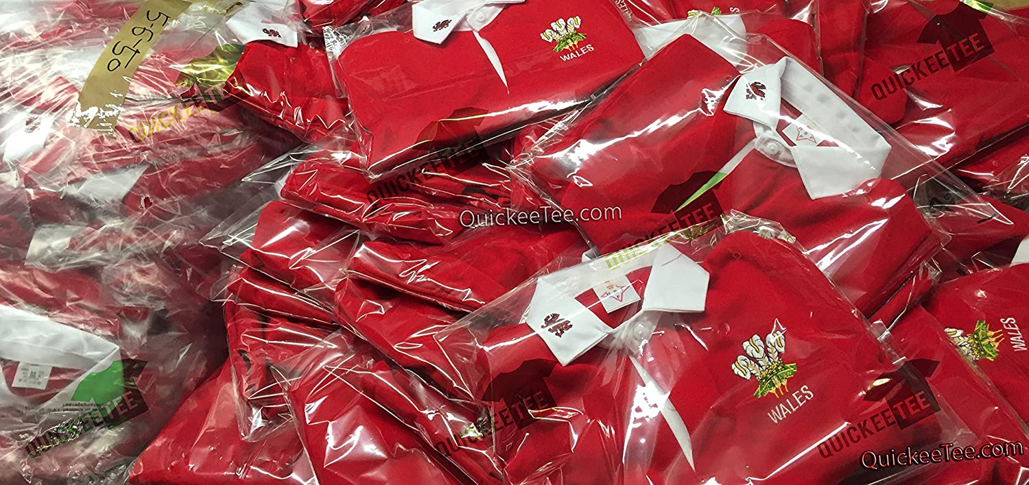 Childrens Welsh Wales Cymru Tops 6 Nations World Cup Kids Full Sleeve Rugby Retro Shirts /…
