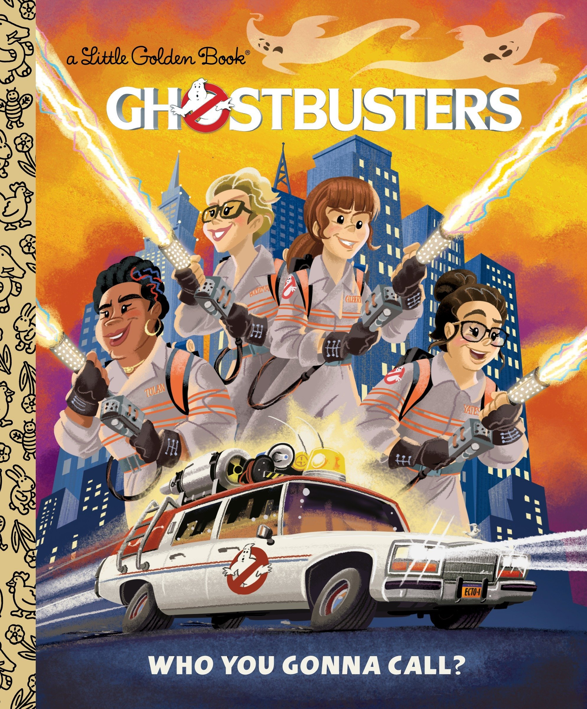 Ghostbusters Gonna Call Little Golden product image
