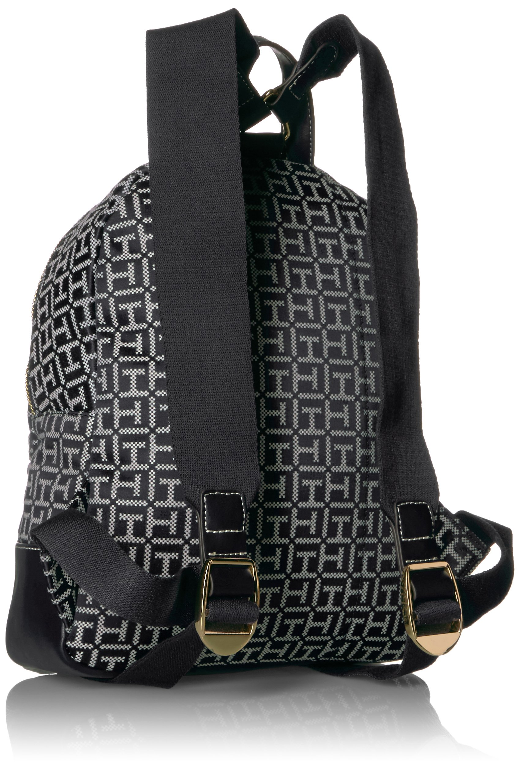 Tommy Hilfiger Women's Backpack Jaden, Black/White by Tommy Hilfiger (Image #2)