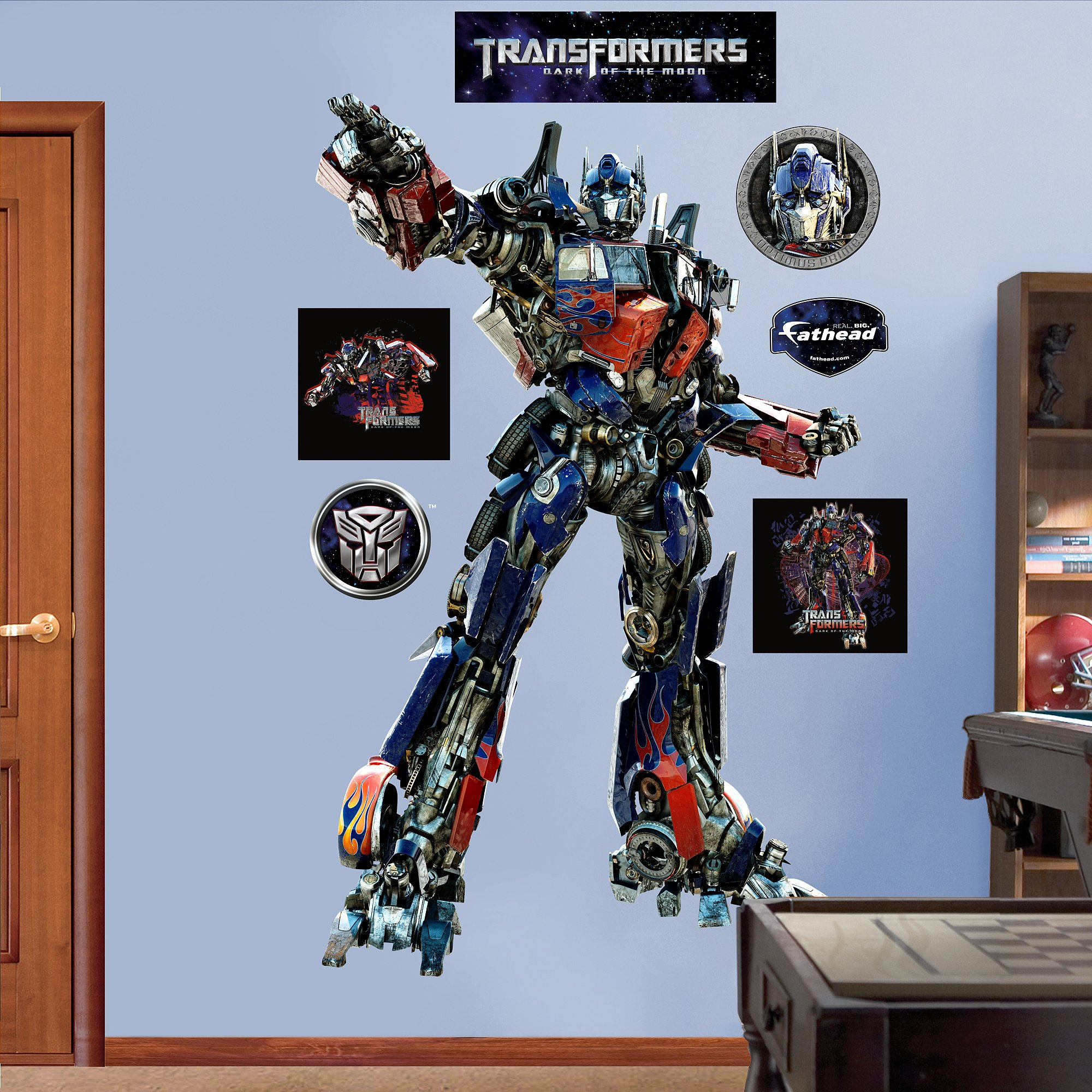 FATHEAD Optimus Prime Graphic Wall Décor by FATHEAD