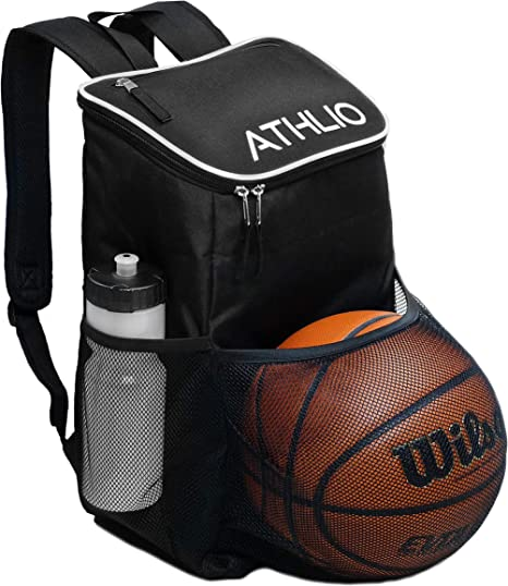 Backpack with Ball Holder