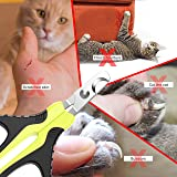 JOFUYU Updated 2019 Version Cat Nail Clippers and