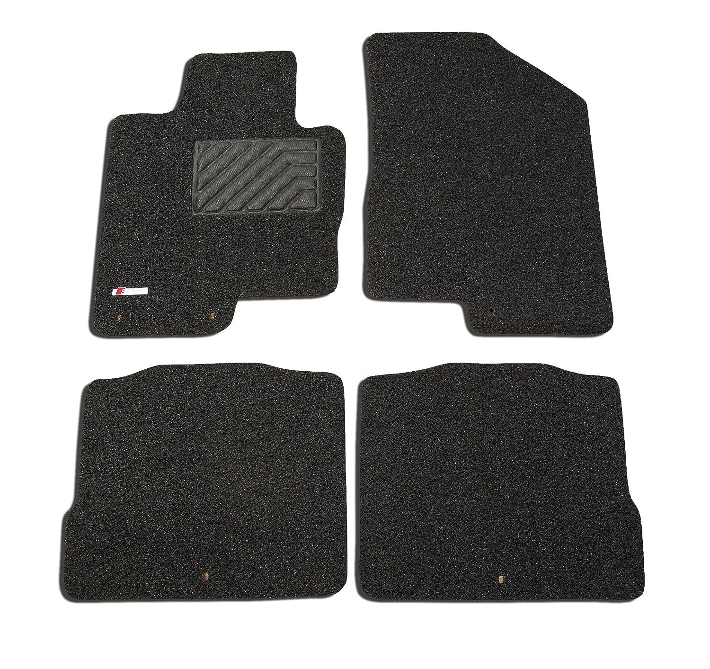 Broadfeet Custom Floor Liners for 2014-2016 Kia Cadenza Black /& Red All Weather Custom Carpet 4 Pieces