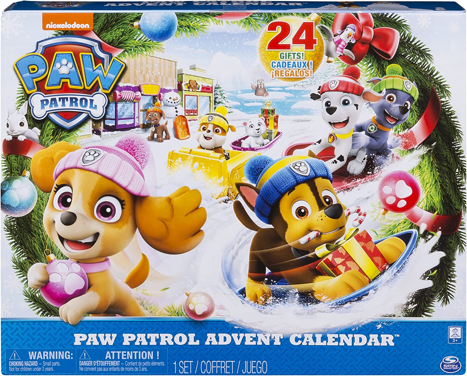 Amazon.com: Paw Patrol   2018 Advent Calendar Release   Includes