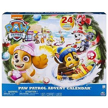 Calendrier De Lavent Pat Patrouille 2019.Paw Patrol 6045038 Calendrier De L Avent 2018 La Pat Patrouille