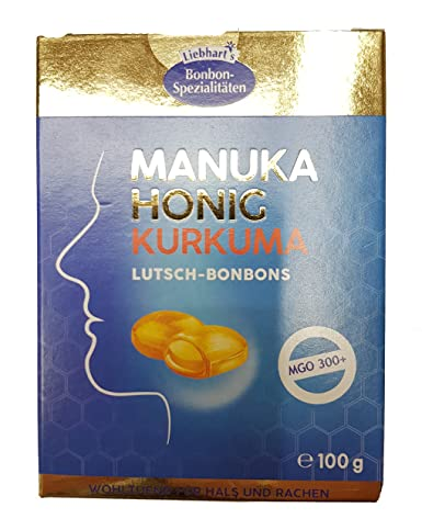 Liebhart Manuka Kurkuma Bonbons MGO300+: Amazon.de: Lebensmittel ...