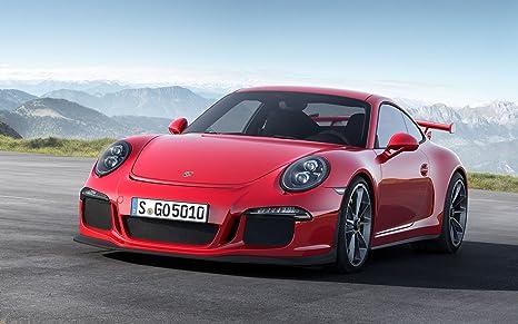 Porsche 911 Gt3 2013 24X36 Poster Banner Photo