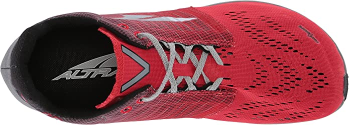 Altra Vanish-R Gray Red Laufschuhe Rot Grau