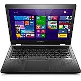 Lenovo YOGA 500 35,6 cm (14 Zoll Full HD IPS Matt) Convertible Notebook (Intel Core i5-5200U, 2,2GHz, 8GB RAM, Hybrid 1TB HDD + 8GB SSHD, NVIDIA GeForce 940M 2GB, Touchscreen, Windows 8.1) schwarz