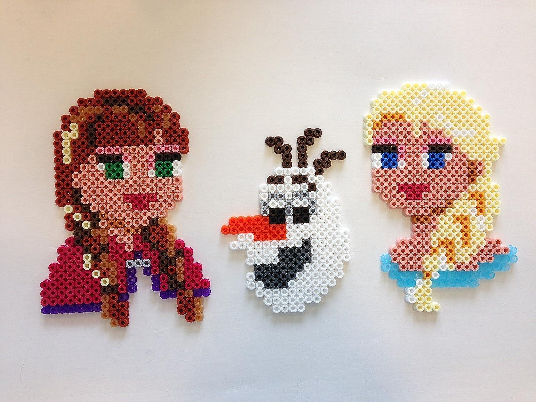 Elsa From Frozen Perler Bead Disney Perler 2